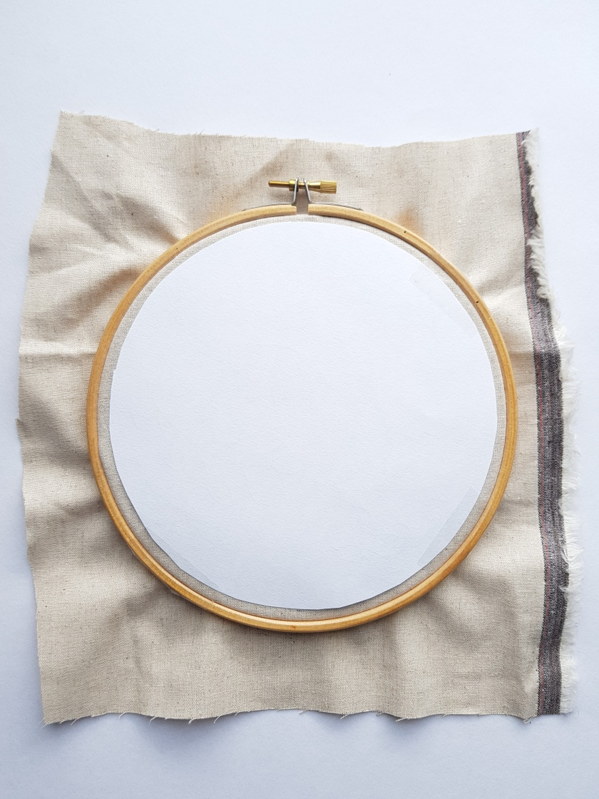 embroidery pattern transfer tutorial 1